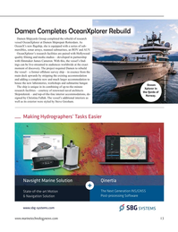 Marine Technology Magazine, page 13,  Nov 2020