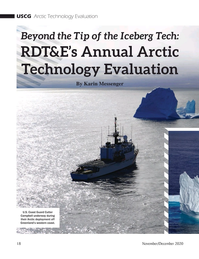 Marine Technology Magazine, page 18,  Nov 2020