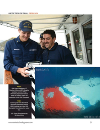 Marine Technology Magazine, page 21,  Nov 2020