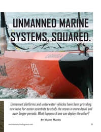 Marine Technology Magazine, page 35,  Nov 2020