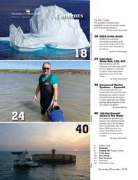 Marine Technology Magazine, page 2,  Nov 2020
