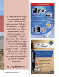 Marine Technology Magazine, page 41,  Nov 2020