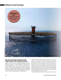 Marine Technology Magazine, page 42,  Nov 2020
