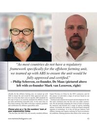 Marine Technology Magazine, page 43,  Nov 2020
