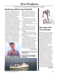 Marine Technology Magazine, page 53,  Nov 2020
