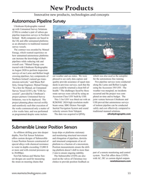 Marine Technology Magazine, page 55,  Nov 2020