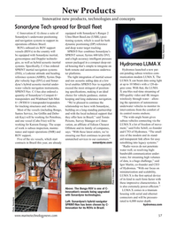 Marine Technology Magazine, page 57,  Nov 2020
