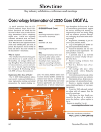 Marine Technology Magazine, page 60,  Nov 2020