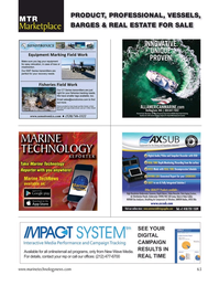 Marine Technology Magazine, page 63,  Nov 2020