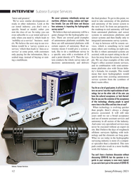 Marine Technology Magazine, page 12,  Jan 2021