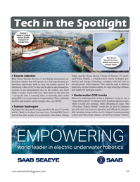 Marine Technology Magazine, page 19,  Jan 2021