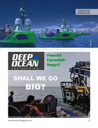 Marine Technology Magazine, page 23,  Jan 2021