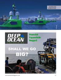 Marine Technology Magazine, page 23,  Jan 2021