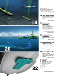 Marine Technology Magazine, page 2,  Jan 2021
