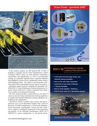 Marine Technology Magazine, page 43,  Jan 2021