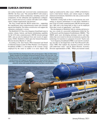 Marine Technology Magazine, page 44,  Jan 2021