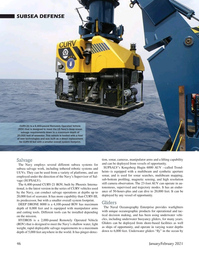Marine Technology Magazine, page 46,  Jan 2021
