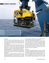 Marine Technology Magazine, page 46,  Jan 2021