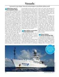 Marine Technology Magazine, page 50,  Jan 2021