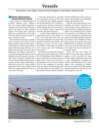 Marine Technology Magazine, page 52,  Jan 2021