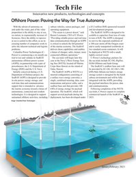 Marine Technology Magazine, page 54,  Jan 2021