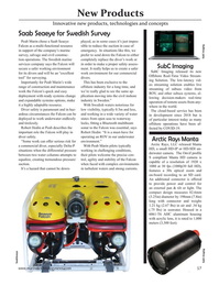 Marine Technology Magazine, page 57,  Jan 2021