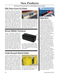 Marine Technology Magazine, page 58,  Jan 2021