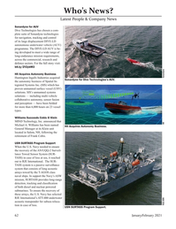 Marine Technology Magazine, page 62,  Jan 2021