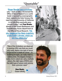 Marine Technology Magazine, page 6,  Jan 2021
