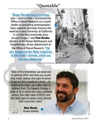 Marine Technology Magazine, page 6,  Jan 2021