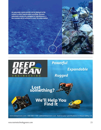 Marine Technology Magazine, page 23,  Mar 2021