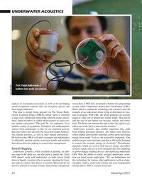 Marine Technology Magazine, page 24,  Mar 2021