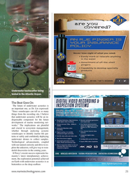 Marine Technology Magazine, page 25,  Mar 2021