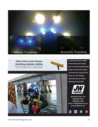 Marine Technology Magazine, page 31,  Mar 2021