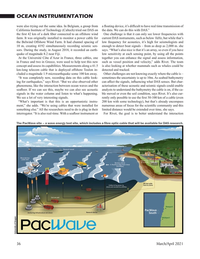 Marine Technology Magazine, page 36,  Mar 2021