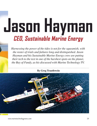 Marine Technology Magazine, page 39,  Mar 2021
