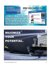 Marine Technology Magazine, page 49,  Mar 2021