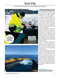 Marine Technology Magazine, page 53,  Mar 2021