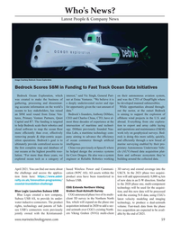 Marine Technology Magazine, page 59,  Mar 2021