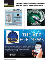 Marine Technology Magazine, page 63,  Mar 2021