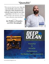 Marine Technology Magazine, page 9,  May 2021