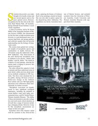 Marine Technology Magazine, page 11,  May 2021