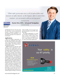 Marine Technology Magazine, page 23,  May 2021