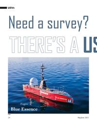 Marine Technology Magazine, page 24,  May 2021