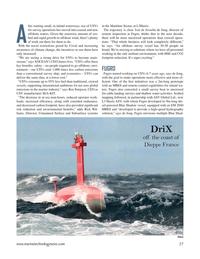 Marine Technology Magazine, page 27,  May 2021