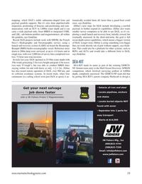 Marine Technology Magazine, page 29,  May 2021