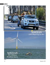 Marine Technology Magazine, page 32,  May 2021