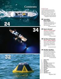 Marine Technology Magazine, page 2,  May 2021
