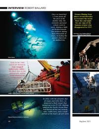 Marine Technology Magazine, page 40,  May 2021