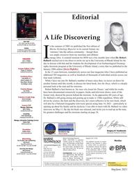 Marine Technology Magazine, page 4,  May 2021